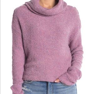Free People Stormy Cowl Neck Sweater: Size XS
